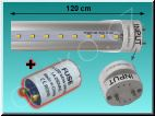 LED trubice TechniLED T8-120N20C-S4, 120 cm, 20W, T8, 4000K, čir